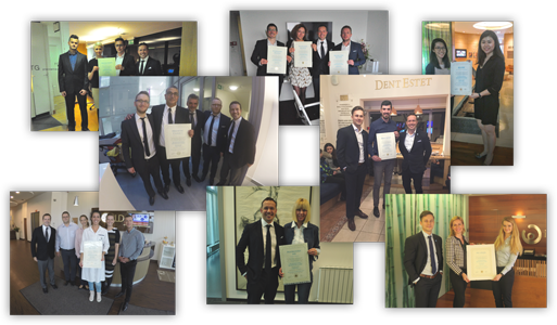 GCR Certificates from Around the world