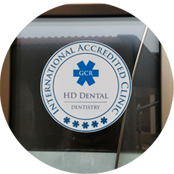 GCR Accreditation printed badge